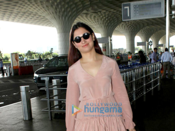 Ajay Devgn, Tamannaah Bhatia and Karan Singh Grover snapped at the airport