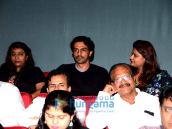 Arjun Rampal hosts a screening of the film Daddy for the Gawli family