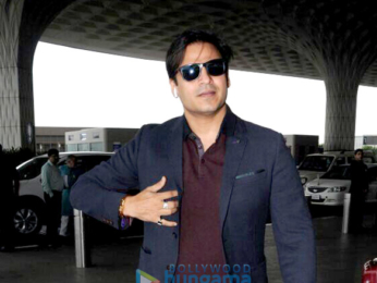 Arjun Kapoor, Vivek Oberoi and Pritam Chakraborty snapped at the airport in the morning