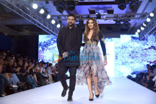 Bipasha Basu and Rocky S walk the ramp at Bombay Times Fashion Week
