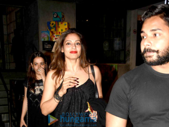 Bipasha Basu and friends snapped post dinner in Bandra