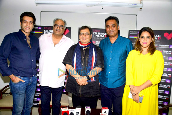 Boney Kapoor graces an event at Whistling Woods