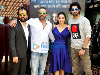 Press conference of 'Haseena Parkar' in Mumbai