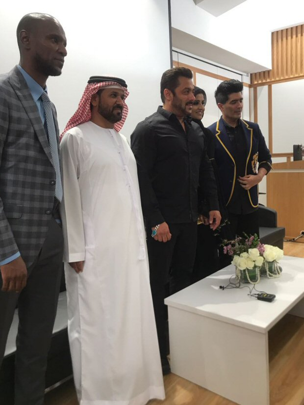 Exclusive Salman Khan Inaugurates Belhasa Driving Centre In