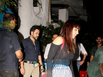 Emraan Hashmi snapped with his wife Parveen Shahani