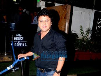 Farah Khan and Ali Asgar snapped at Mirabella