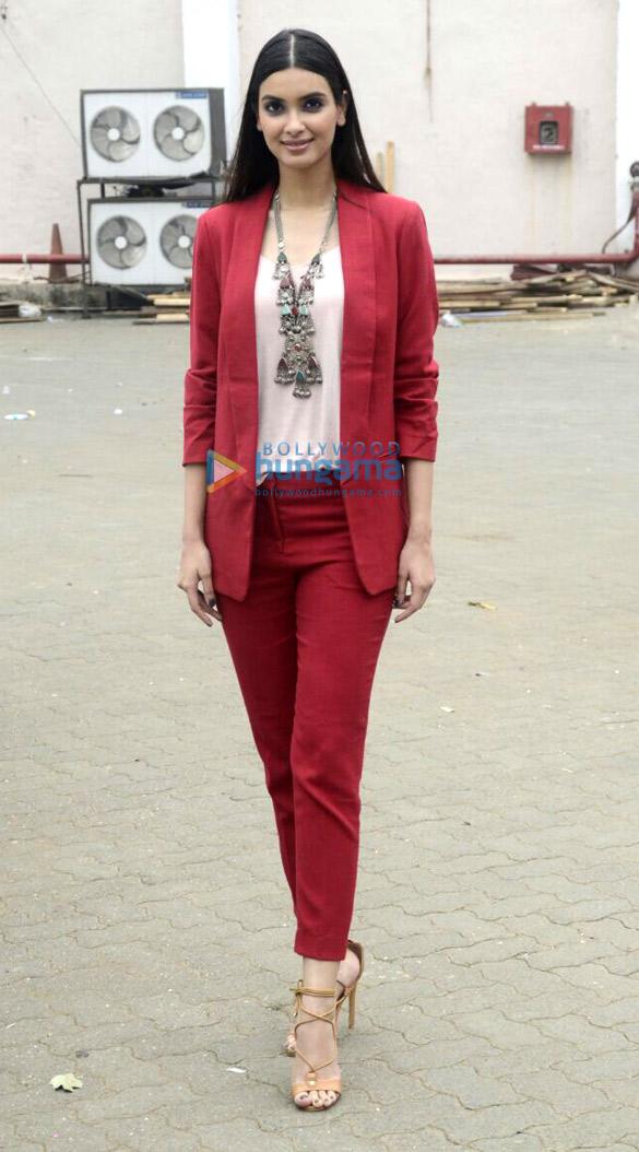 Farhan Akhtar and Diana Penty promote their film 'Lucknow Central'