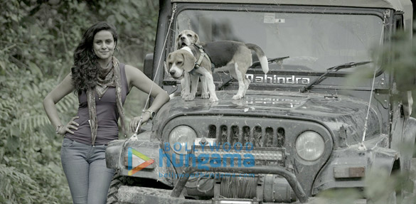 Gul Panag snapped on her road trip through the North East