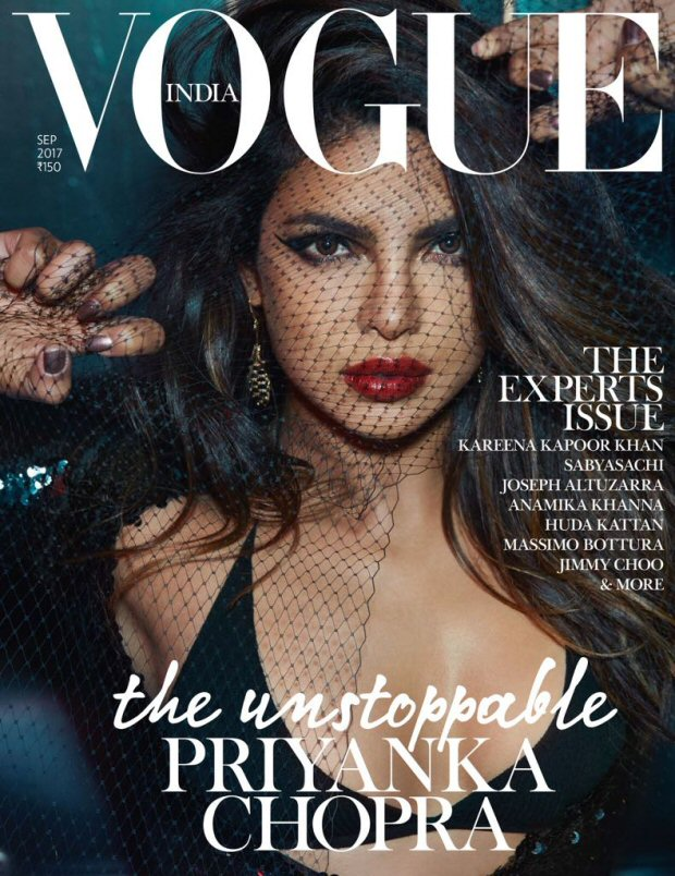 HOLY SMOKES Priyanka Chopra is a sultry siren on the cover of Vogue India1
