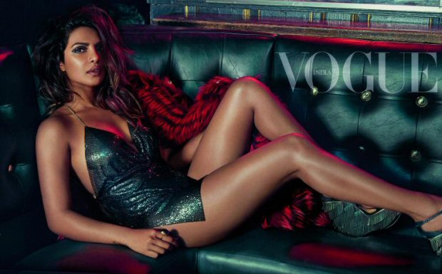HOLY SMOKES Priyanka Chopra is a sultry siren on the cover of Vogue India2