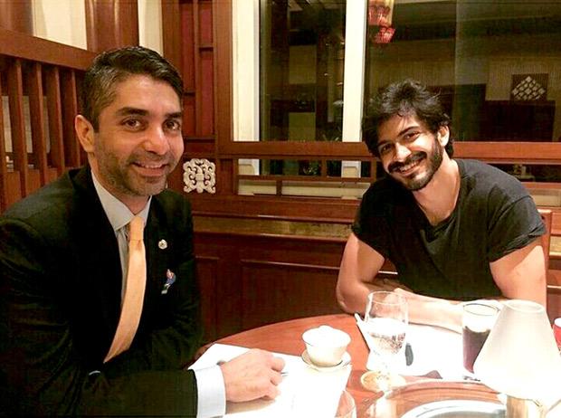 Harshvardhan Kapoor meets Olympic gold medialist Abhinav Bindra to begin prep for biopic