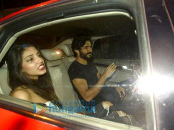 Harshvardhan Kapoor snapped with a mystery girl post dinner at Korner House