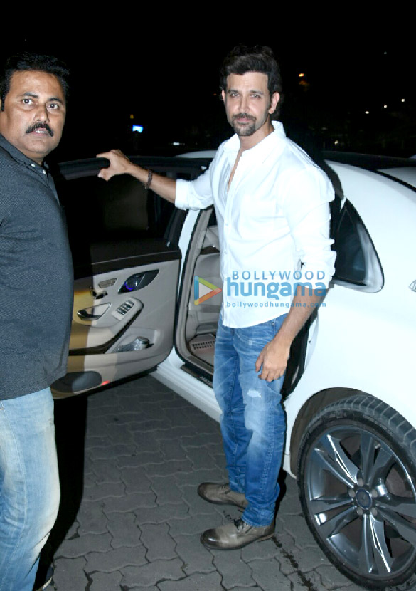 Hrithik Roshan, Sussanne Roshan and kids snapped post dinner at Yautcha Bandra