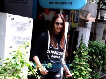 Huma Qureshi snapped at Bblunt