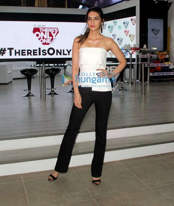 Kriti Sanon snapped at Jockey event in Mumbai