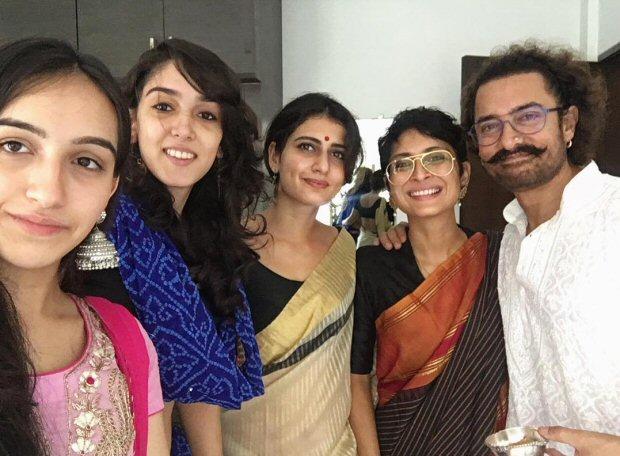 Inside Pics Fatima Sana Shaikh celebrates Eid with Aamir Khan and family1
