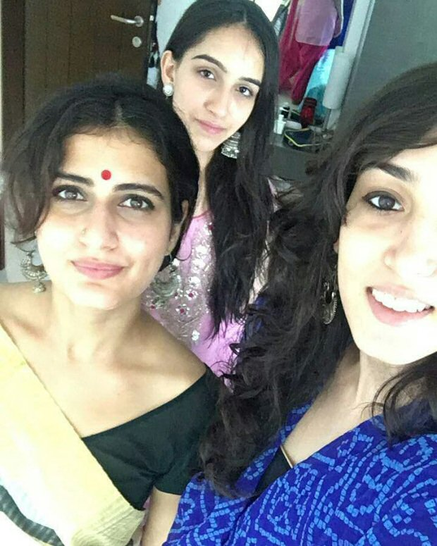 Inside Pics Fatima Sana Shaikh celebrates Eid with Aamir Khan and family3