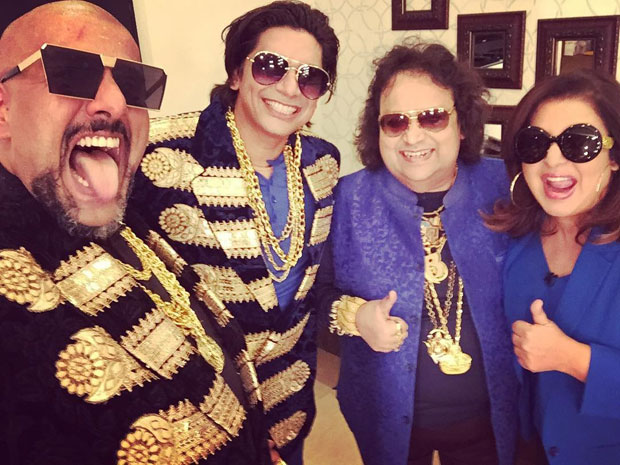It's raining music on Farah Khan's show Lip Sing Battle with Vishal Dadlani, Shaan and Bappi Lahiri Features