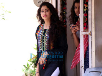 Jahnavi Kapoor snapped during her dance rehearsals
