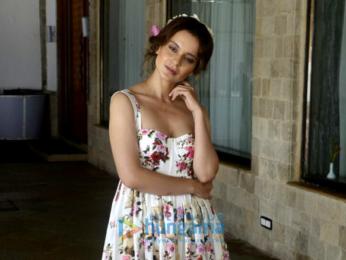 Kangana Ranaut snapped during 'Simran' promotions
