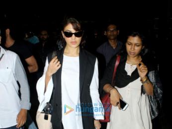 Kangana Ranaut and Jacqueline Fernandez snapped at the airport