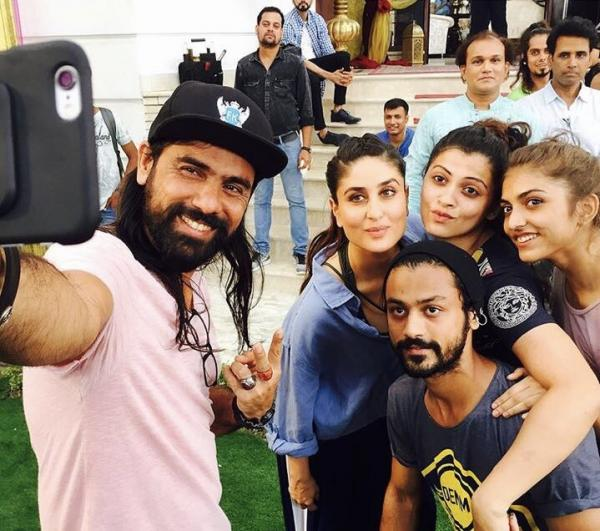 Veere Di Wedding Cast.Check Out Kareena Kapoor Khan Shoots For A Song For Veere Di