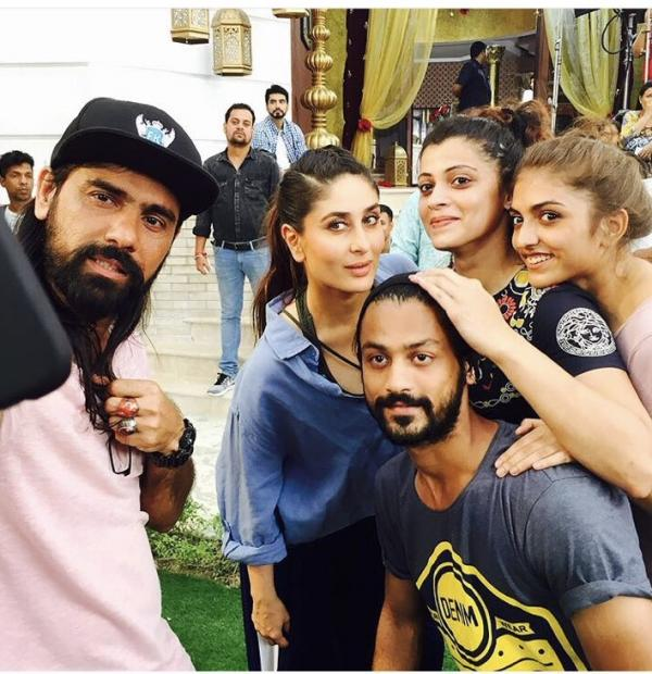 Check out: Kareena Kapoor Khan shoots for a song for Veere