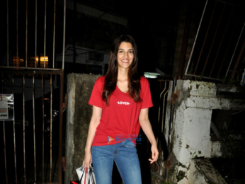 Kriti Sanon snapped at a salon in Juhu