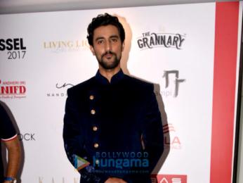 Kunal Kapoor, Sahil Salathia and Udita Goswami at the Bombay Times Fashion Week