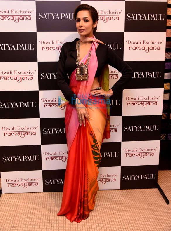 Malaika Arora graces the launch of the Diwali exclusive collection by Satyapaul