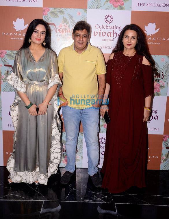 Padmini Kolhapure, Poonam Dhillon launch their Fall Winter collection at Celebrating Vivaha 2017