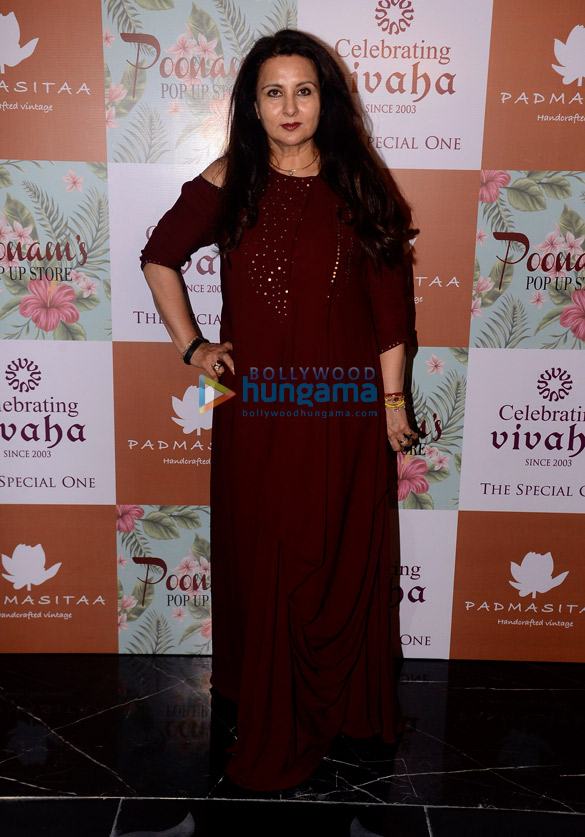 Padmini Kolhapure, Poonam Dhillon launch their Fall Winter collection at Celebrating Vivaha 2017