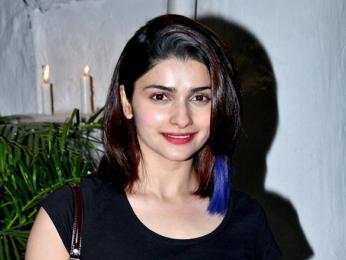 Prachi Desai snapped on her birthday in Bandra
