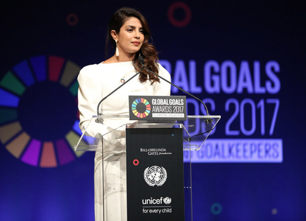 Priyanka Chopra speaks at UN Global Goals Awards; meets UNICEF's youngest goodwill ambassador-3