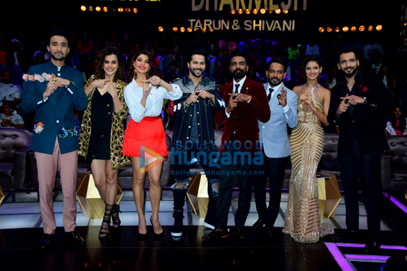 Promotion of 'Judwaa 2' on the sets of 'Dance+ Season 3' finale