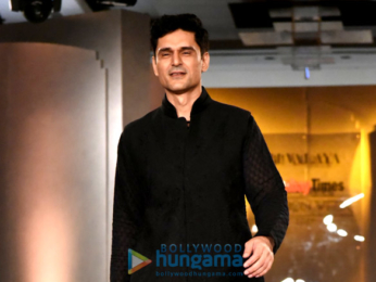 Rahul Dev and Rajniesh Duggal walk the the ramp at Bombay Times Fashion Week