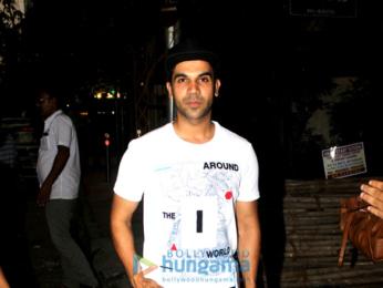Rajkummar Rao snapped at Bandra