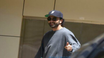 Ranbir Kapoor snapped post rehearsals for his film 'Dragon' in Bandra