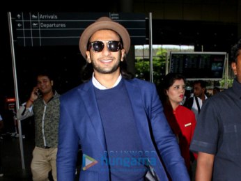 Ranveer Singh and Shraddha Kapoor snapped at the airport