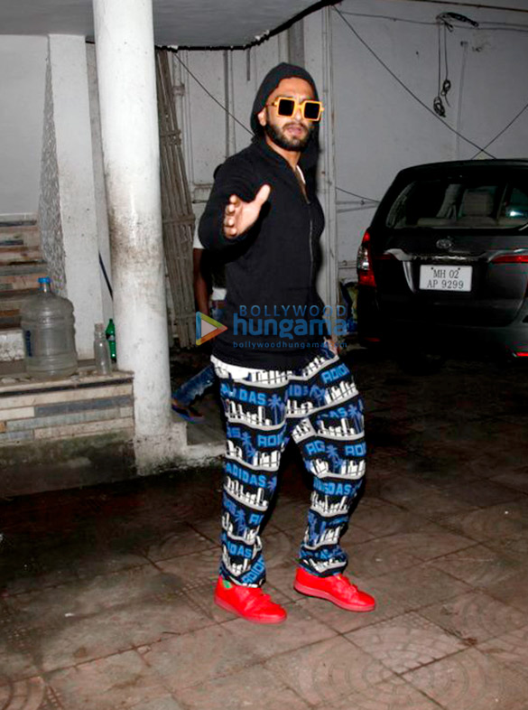 Ranveer Singh snapped at his grandparents house
