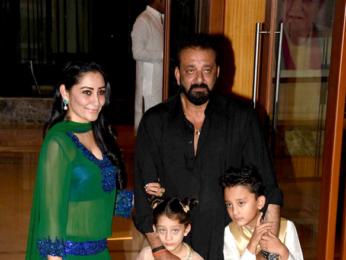Sanjay Dutt's Eid dinner with 'Bhoomi' starcast