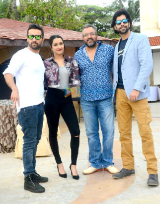 Sharaddha Kapoor, Siddhanth Kapoor and Ankur Bhatia promote their film 'Haseena Parkar'