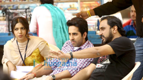 On The Sets Of The Movie Shubh Mangal Saavdhan