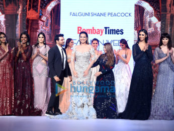 Sonakshi Sinha walks the ramp at Bombay Times Fashion Week 2017