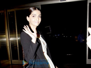 Sonam Kapoor and Pooja Hegde snapped at the airport