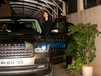 Anushka Sharma snapped sporting a new hair style after her salon