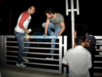 Varun Dhawan snapped leaving from PVR Juhu