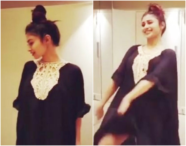 WATCH Mouni Roy's smooth dance moves on 'Afreen' will make you hit the dance floor!