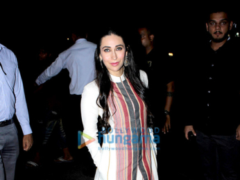 Karisma Kapoor attends the Asif Bhamla Foundation Diwali bash