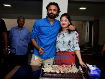 Zaira Wasim celebrates her birthday with the media